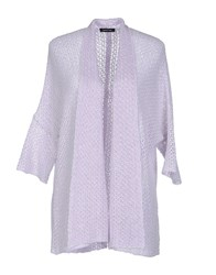 Anne Claire Anneclaire Knitwear Cardigans Women Lilac