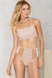 Nasty Gal For Love And Lemons Naples High Waisted Bikini Bottom