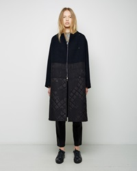 3.1 Phillip Lim Mayu Quilted Car Coat