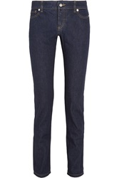 Mcq By Alexander Mcqueen Mid Rise Slim Fit Jeans