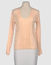 Fabio Di Nicola Long Sleeve Sweaters Skin Color