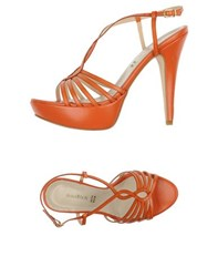Annarita N. Footwear Sandals Women Rust