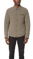 Vince Quilted Down Ski Jacket Fatigue Green