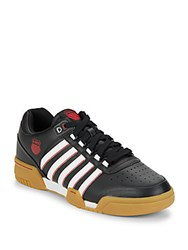 K Swiss Gstaad Leather Sneakers Black White