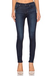 A Gold E Sophie High Rise Skinny Abyss