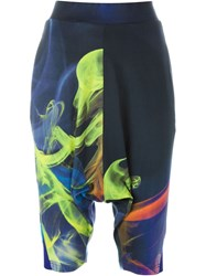 Y 3 Smoke In Water Print Shorts Multicolour