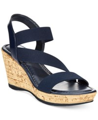 Easy Street Shoes Tuscany By Easy Street Piceno Wedge Sandals Women's Shoes