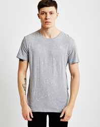 G Star G Star Splatter T Shirt Grey
