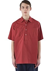 E.Tautz Short Sleeved Sports Shirt Red