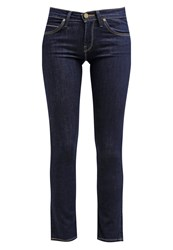 Lee Jade Slim Fit Jeans Solid Blue Rinsed