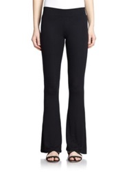 Atm Anthony Thomas Melillo Flared Stretch Jersey Pants Black