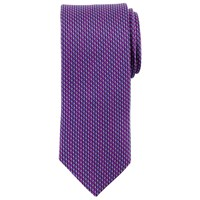 John Lewis Vertical Stripe Silk Tie Purple Black