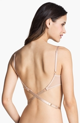 Nordstrom Intimates Low Back Strap 1 Hook Bra Attachment Nude