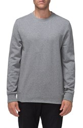 Tavik Men's Gino French Terry Crewneck Sweatshirt Heather Grey