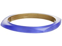 Alexis Bittar Square Bangle Periwinkle Bracelet Blue