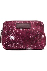 Marc By Marc Jacobs Printed Neoprene Cosmetics Case Plum