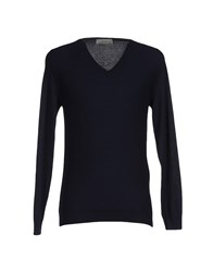 M.Grifoni Denim Knitwear Jumpers Men Dark Blue