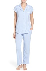 Women's Eileen West Stripe Cotton Pajamas