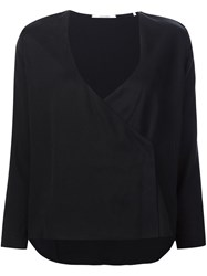 Won Hundred V Neck Blouse Black