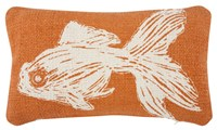 Thomas Paul Thomaspaul Goldfish Sketch Pillow