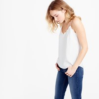 J.Crew Tall Scalloped Carrie Cami
