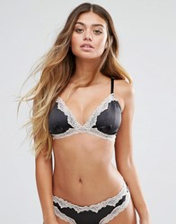 Lepel London Caitlin Triangle Bra Black Blush