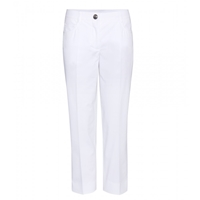 Miu Miu Cropped Trousers Bianco