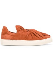 Ports 1961 Bow Slip On Sneakers Brown
