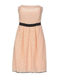 Massimo Rebecchi Dresses Short Dresses Women Apricot