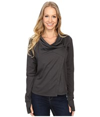 Arc'teryx Yonge Long Sleeve Wrap Black Women's Clothing