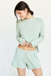 Out From Under Cuffed Sweat Short Olive