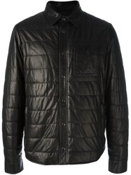 Tod's Quilted Effect Jacket Black