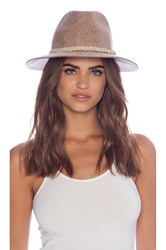 Lovely Bird San Miguel Natural Concho Hat Taupe