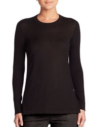Akris Cashmere Knit Sweater Black
