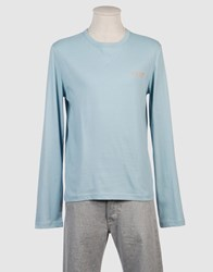 Exte Topwear Long Sleeve T Shirts Men Sky Blue