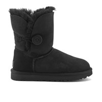 Ugg Women's Bailey Button Ii Sheepskin Boots Black