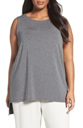 Eileen Fisher Plus Size Women's Stretch Tencel Lyocell Jersey Tank