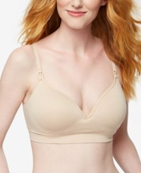 A Pea In The Pod Nursing Bra Essential Nude