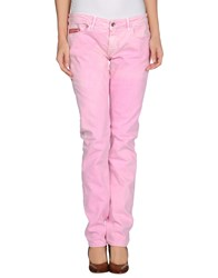 Unlimited Denim Denim Trousers Women Light Purple