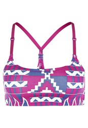 Roxy Own It Sports Bra Aztec Geo Sailor Purple