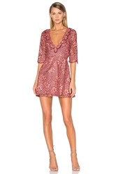 For Love And Lemons Theodora Dress Red