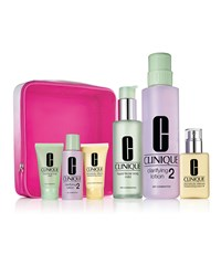 Limited Edition Great Skin Everywhere 3 Step Set Skin Type I Ii 90 Value Clinique