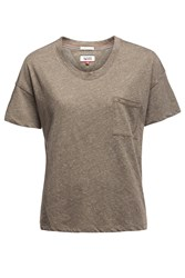 Tommy Hilfiger Thdw Basic Scoop Neck Top Green