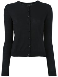 Boutique Moschino Crew Neck Cardigan Black