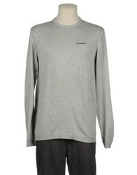 Firetrap Crewneck Sweaters Light Grey