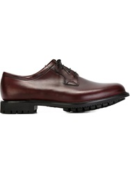 Church's 'Newbridge' Derby Shoes Red