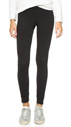 Monrow Yoga Leggings Black