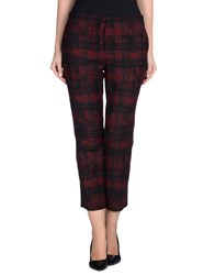 Tara Jarmon Trousers Casual Trousers Women Maroon