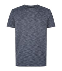 A.P.C. Apc Jersey Space Dye T Shirt Male Dark Grey