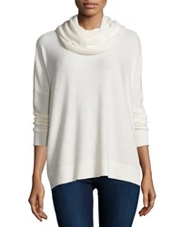 Joie Long Sleeve Cowl Neck Sweater Chalk